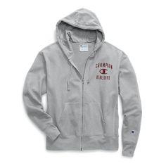 b166c4d79baf Champion Men's Heritage Fleece Zip Up Hoodie - Distressed C Logo (S1232  549309) Zip