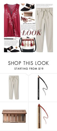 """Plus Size Summer Style"" by beebeely-look ❤ liked on Polyvore featuring Lands' End, CC, Urban Decay, summerstyle, mules, sammydress, plussize, curvy and plus size clothing"