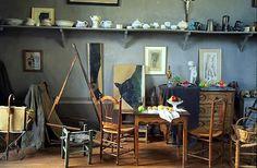 Intérieur : atelier de Paul Cézanne, artiste  français