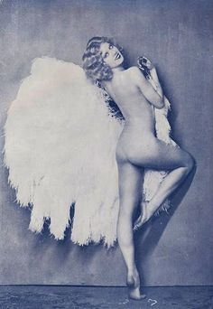 """Fan Dance """"inventor"""" Faith Bacon ? Fan Dance has been around for a very long time in varying forms and cultures so i am not sure Faith 'invented' it!?! Though she may well have initiated the burlesque style with big ostrich feather fans which is still super popular to this day!"""
