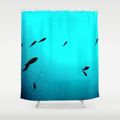 peces Shower Curtain by dissabtes - $68.00