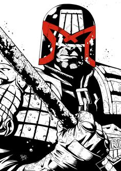 JUDGE DREDD 2115 by Pichapop Payakso