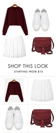 """Untitled #37"" by jirahmaureen-tabanao on Polyvore featuring McQ by Alexander McQueen, Yves Saint Laurent and FOSSIL"