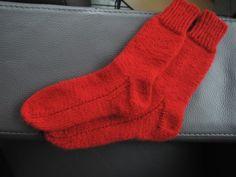 Sokken breien op grootmoeders wijze (deel 2/2)