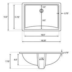 "American Imaginations Bow 29.45"" Birch Wood-Veneer Bathroom Vanity Faucet Mount:"