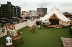 aaa Cafe Design, House Design, Outdoor Garden Furniture, Outdoor Decor, Roof Balcony, Roof Terrace Design, Rooftop Restaurant, Backyard Playground, Rooftop Terrace