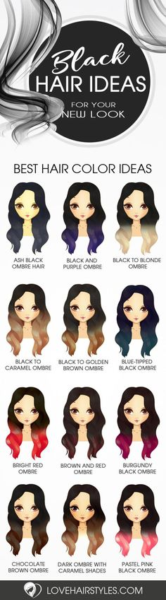 Nouvelle Tendance Coiffures Pour Femme 2017 / 2018 Ways to Take Your Black Ombre Hair to the Next Level See more: lovehairstyle