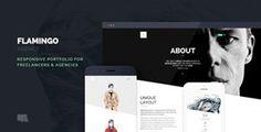 Flamingo – Agency & Freelance Portfolio Theme