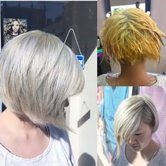White grey hair, Asian hair, Pravana color , try Silver !