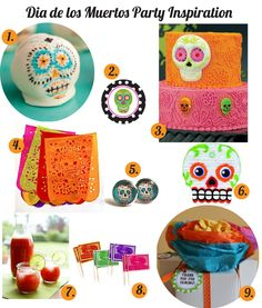 {Holidays} Dia de los Muertos Party Ideas