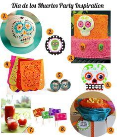 {Holidays} Dia de los Muertos Party Ideas