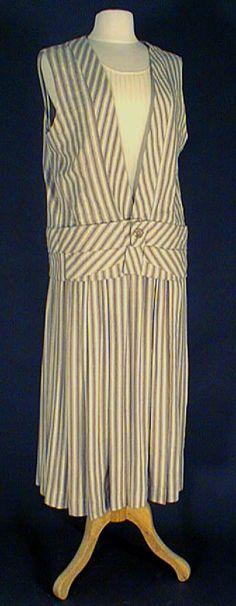 Le costume féminin dans les années 20's Day wear