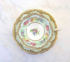 CIJ Exquisite Vintage Paragon Cabinet Cup and by TheWhistlingMan