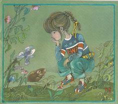 Garaż ilustracji książkowych: Lubimy Was - Ewa Salamon