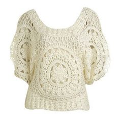 crocheted blouse I'm going to create a pattern for...on the website, they want $48.00 for it.