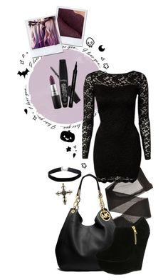"""""""Today's Outfit #26"""" by giovanna1995 ❤ liked on Polyvore featuring Forever 21, John Zack, MICHAEL Michael Kors, MAC Cosmetics, Rimmel, Giorgio Armani and Miss Selfridge"""