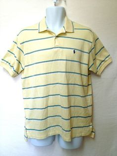 Casual yellow Ralph Lauren polo