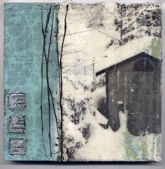 DAWNS ART BLOG: Encaustic Journey
