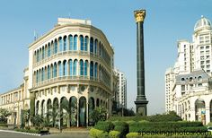 The Hiranandani Gardens, an integrated residential and commercial township located in Powai,north-east of Mumbai, India.