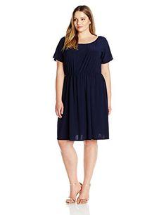 Jessica Howard Women s Short Sleeve Lace Shift Dress Plus Size