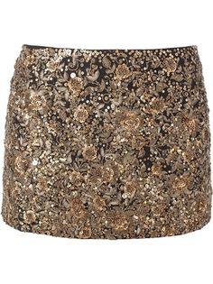 SABYASACHI Hand Embroidered Miniskirt #wonderfulstore