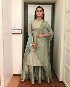 Alia Bhatt Biography - Age, Height, Wiki, Family & More - BuzzzFly Anarkali, Lehenga, Salwar Kurta, Lehnga Dress, Indian Salwar Kameez, Sharara, Maya Ali, Indian Wedding Outfits, Indian Outfits