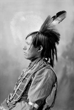 Chas-Ca (The Hawk), Called John Pedro, Arapaho - Frank A Rinehart - 1898