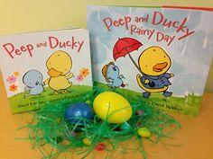Peep and Ducky #easter #kidlit