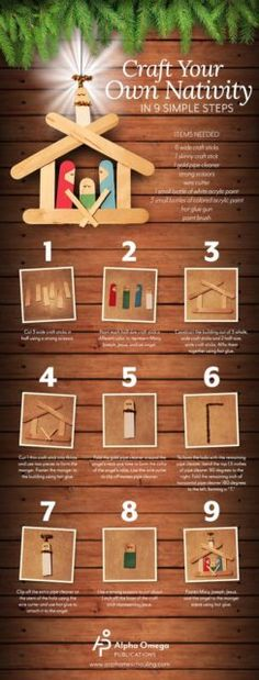Craft Your own nativity