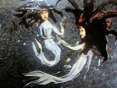 Natalie Eve Garrett's Yogurt Paintings of Fairy Tales