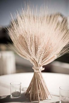 """wheat for ground arrangements or near the """"alter"""" supposed to symbolize good fortune!"""