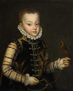 Portrait of Infante Ferdinand of Spain - c.  1575