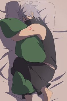 Why would Kakashi ever sleep like this