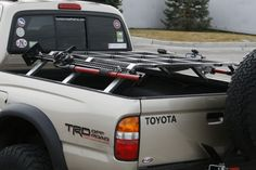 Box Rocket Fab Bed Racks - Tacoma World Forums Toyota 4x4, Toyota Trucks, Toyota Hilux, Toyota Tacoma, Toyota Tundra, Pick Up, Pickup Truck Accessories, Truck Accesories, Tacoma Accessories