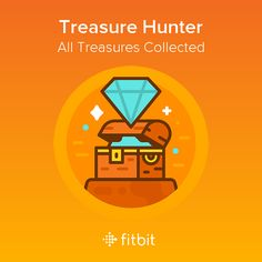 Avast! There's a new treasure hunter in town. I collected every Treasure in my Fitbit Adventure.