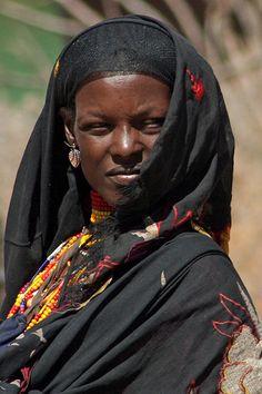 Ethiopian WomanThe Borana: Headscarf and Beads