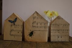 Maisons - partition de musique