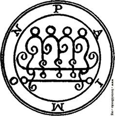 Paimon - Goetia - Classics of Magick - Norton's Imperium - Hermetic Library Wicca, Magick, Baphomet, Order Of Angels, Summoning Circle, Angel Protector, Ange Demon, King Solomon, Cancer Moon