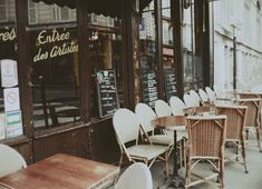 Reminds me of those lovely cafes you sit at for hours and hours when you travel