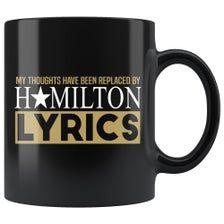 Hamilton Gifts, Hamilton Quotes, Black Coffee Mug, Coffee Mugs, Hamilton Playbill, Coffee Humor, Funny Coffee, Great Christmas Gifts, Christmas 2019