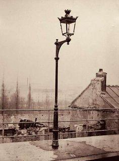 Charles Marville: Street Lamp