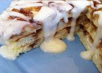 Cinnamon Roll Pancake Recipe – Pancakes are Never Out of Style | Grocery Eats