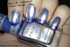 Barry M Chameleon Colour Change in Lilac