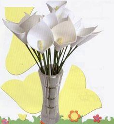 Cala lilies tutorial