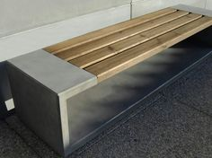 FIBER-REINFORCED CONCRETE BENCH OUTLINE COLLECTION BY SIT URBAN DESIGN