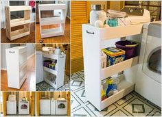 10 Practical DIY Projects for Laundry Room Organization 2