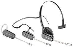Plantronics W740 wireless office headset for phone, computer and Bluetooth. http://theheadsetshop.com/plantronics-w740-savi-wireless-headset-phone-cpu-mobile-p-490.html , $279.99. The Headset Shop online retailer and authorized dealer.