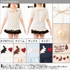 2014 Nye sommer kortermet skjorte Søt Liten Fersk Vind damene prinsesse dukke krage skjorte Wawa Shan - Taobao