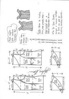 Amazing Sewing Patterns Clone Your Clothes Ideas. Enchanting Sewing Patterns Clone Your Clothes Ideas. T Shirt Sewing Pattern, Easy Sewing Patterns, Pattern Drafting, Sewing Tutorials, Clothing Patterns, Diy Clothes And Shoes, Make Your Own Clothes, Techniques Couture, Sewing Techniques