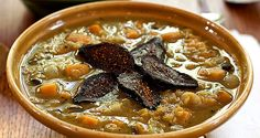 There's something about the warmth and complexity of the spices in Moroccan cuisine that inspires me to create new dishes using them. This stew offers a heaping serving of black beans, chickpeas, and lentils, along with yellow-fleshed sweet potatoes that...  Read more